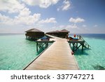 view of vilamendhoo island at... | Shutterstock . vector #337747271