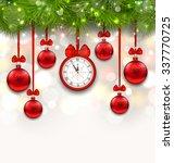 illustration new year... | Shutterstock . vector #337770725