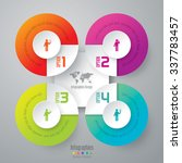 infographic design template can ... | Shutterstock .eps vector #337783457