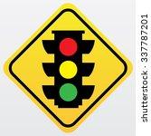 traffic sign .light traffic...   Shutterstock .eps vector #337787201