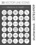 medicine and health vector... | Shutterstock .eps vector #337814909
