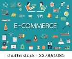 text e commerce with long