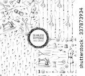set of seamless patterns. set...   Shutterstock .eps vector #337873934