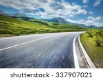 mountain road | Shutterstock . vector #337907021