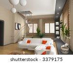 modern interior design  privat... | Shutterstock . vector #3379175