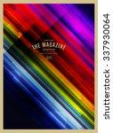 vector abstract retro... | Shutterstock .eps vector #337930064