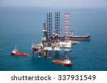 Offshore Oil Rig Drilling...