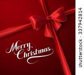 merry christmas. holiday vector ... | Shutterstock .eps vector #337942814