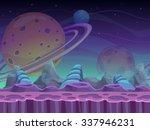 fantasy seamless alien... | Shutterstock .eps vector #337946231
