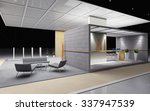 exhibition stand with tile and... | Shutterstock . vector #337947539