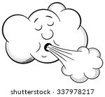 illustration of a cartoon cloud ... | Shutterstock . vector #337978217