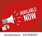 available now | Shutterstock .eps vector #337998557