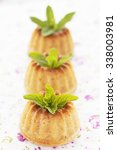 cottage cheese muffin. | Shutterstock . vector #338003981