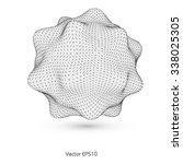 abstract figure   Shutterstock .eps vector #338025305