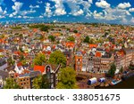 Roofs And Facades Of Amsterdam...