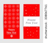 happy new year | Shutterstock .eps vector #338067761