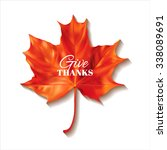 thanksgiving day background... | Shutterstock .eps vector #338089691