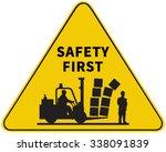 car loader with carton boxes....   Shutterstock .eps vector #338091839