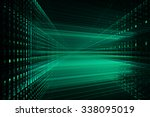 digital technology abstract... | Shutterstock . vector #338095019