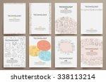 corporate identity vector... | Shutterstock .eps vector #338113214
