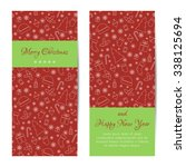 greeting card  banner or... | Shutterstock . vector #338125694