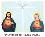 jesus christ and blessed virgin ...