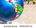new york  usa   sep 22  2015 ... | Shutterstock . vector #338159111