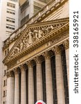 Small photo of NEW YORK, USA - SEP 25, 2015: New York Stock Exchange (NYSE), Big Board, an American stock exchange in Wall Street, the world's largest stock exchange by market capitalization
