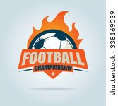 football badge logo template... | Shutterstock .eps vector #338169539