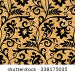 seamless background from a... | Shutterstock .eps vector #338175035