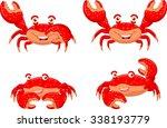 Cartoon Funny Crab Collection...