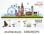 info graphics travel and... | Shutterstock .eps vector #338240291