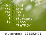 acronym of success written in... | Shutterstock . vector #338252471
