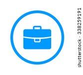 briefcase icon  flat