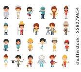 illustration characters of kids ... | Shutterstock .eps vector #338279654
