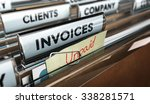 close up on a file tab with the ... | Shutterstock . vector #338281571