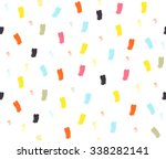 abstract cute colorful stripes... | Shutterstock .eps vector #338282141