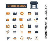 store  shopping  retail  sales  ... | Shutterstock .eps vector #338338514