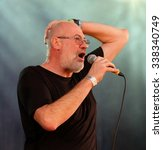 Small photo of Cropredy Festival - August 14th 2015: Fish, formerly of progressive rock band Marillion performing at Fairport Convention's Cropredy Festival, Oxfordshire, August 14 2015, Banbury, Oxfordshire UK