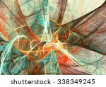 abstract bright color motion... | Shutterstock . vector #338349245