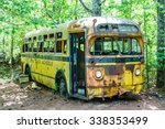 Rusted Out Old School Bus...