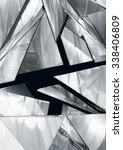 abstract pieces of metal  | Shutterstock . vector #338406809