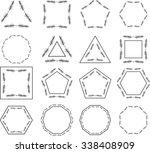 vector set of different design... | Shutterstock .eps vector #338408909