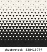 vector seamless black and white ... | Shutterstock .eps vector #338419799