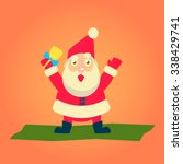 merry christmas vector...   Shutterstock .eps vector #338429741