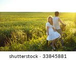together catching the sunset | Shutterstock . vector #33845881