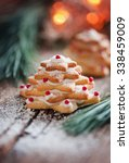 little christmas cookie tree | Shutterstock . vector #338459009