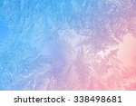 beautiful closeup winter window ...   Shutterstock . vector #338498681
