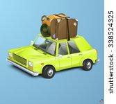vector illustration of a retro... | Shutterstock .eps vector #338524325