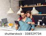 shot of a women holding a... | Shutterstock . vector #338529734